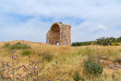 Ruins of the Church of St Anne Stock Photography