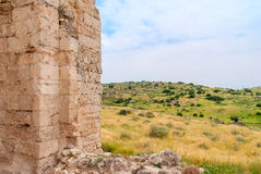 Ruins of the Church of St Anne Royalty Free Stock Photography