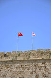 Ruins. Church of St. George in the castle of Kyrenia - Turkish Cyprus Royalty Free Stock Image