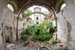 Ruins of the Church of St Wenceslas Royalty Free Stock Photos