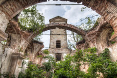 Ruins of the Church of St Wenceslas Stock Images