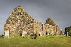Ruins of Cill Chriosd on the Isle of Skye Royalty Free Stock Image