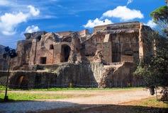 Ruins at Circulus Maximus in Rome, Italy Stock Photo