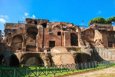 Ruins at Circulus Maximus in Rome, Italy Stock Photography