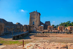Ruins at Circulus Maximus in Rome, Italy Royalty Free Stock Image