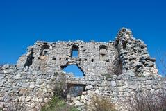 Ruins of citadel Stock Image