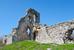 Ruins of citadel Royalty Free Stock Image