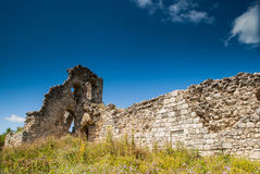 Ruins of citadel Royalty Free Stock Photos