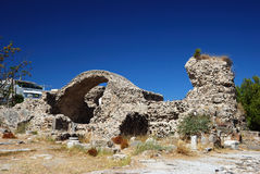 Ruins in the city of Kos Royalty Free Stock Image