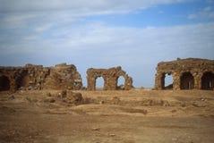 Ruins of city walls Stock Photo