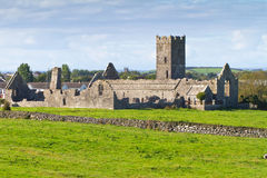 Ruins of Clare Abbey. Near Ennis, Co. Clare - Ireland Royalty Free Stock Photos
