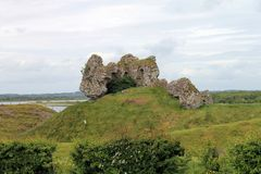 The ruins from Clonmacnoise in Ireland. Royalty Free Stock Photography