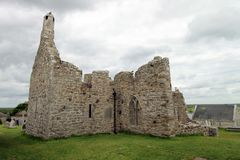 The ruins from Clonmacnoise. Stock Photography
