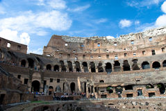 Ruins of the Coliseum Royalty Free Stock Images