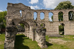 Ruins of the Coliseum of Bordeaux, France Royalty Free Stock Photos