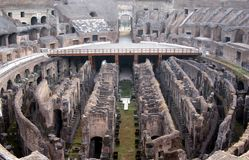 Ruins of Colisseum Royalty Free Stock Image