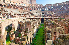 Ruins of the colloseum Royalty Free Stock Photography