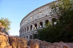 Colosseum in Rome, Italy Royalty Free Stock Photography