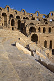 Ruins of colosseum stock image