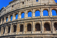 The ruins of the Colosseum in Rome Royalty Free Stock Image
