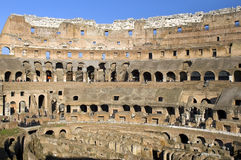 Ruins of  Colosseum, Rome, Italy Royalty Free Stock Images