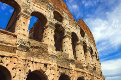 Ruins of the Colosseum in Rome, Italy Stock Photography