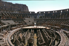 Ruins of the Colosseum, Rome. ITALY. Stock Photo