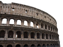 Ruins of the Colosseum in Rome, Italy Stock Images