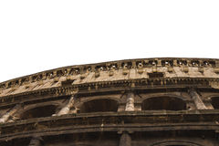 Ruins of the Colosseum in Rome, Italy Royalty Free Stock Images
