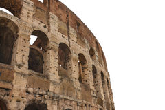 Ruins of the Colosseum in Rome, Italy Stock Image