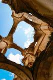 Ruins of the Convento de Monjes Servitas, Teruel, Aragon, Spain Stock Images
