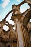 Ruins of the Convento de Monjes Servitas, Teruel, Aragon, Spain Royalty Free Stock Photo