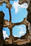 Ruins of the Convento de Monjes Servitas, Teruel, Aragon, Spain Royalty Free Stock Photography