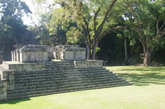 Stunning ruins of Copan Stock Photo