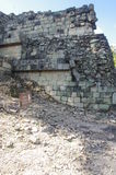 Archaeological site of the Maya civilization stock photo