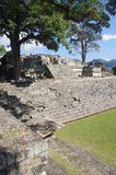 Copan Ruins East Court royalty free stock image