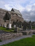 Ruins of Corcomroe Abbey. In the north of the Burren region of County Clare, Ireland Stock Photography