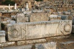 Ruins in Corinth, Greece stock image