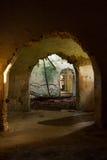 Ruins Corridor Stock Photos
