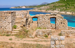 Ruins in Corsica Royalty Free Stock Images
