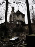 Ruins of a crematorium. In Germany Royalty Free Stock Photos