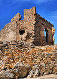 Ruins of Cristovao de Moura palace royalty free stock photography
