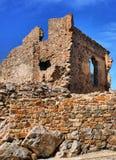 Ruins of Cristovao de Moura palace Royalty Free Stock Photography
