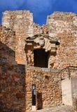 Ruins of Cristovao de Moura palace Stock Photos