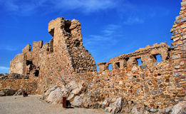 Ruins of Cristovao de Moura palace Stock Image