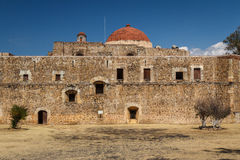 Ruins of the Cuilapan de Guerrero monastery, Oaxaca. Mexico Royalty Free Stock Photography