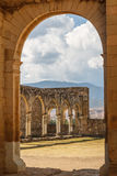 Ruins of the Cuilapan de Guerrero monastery. Oaxaca, Mexico Stock Photography