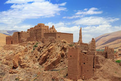 Ruins in Dades valley Stock Photography