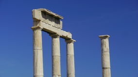 Ruins of Delos Royalty Free Stock Photo