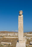 Ruins of Delos, Greece Stock Photos